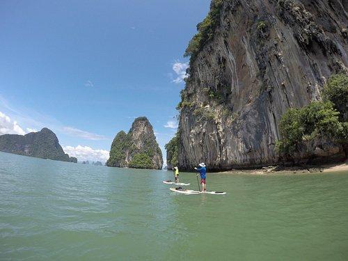 Discover Phang Nga Bay SUP tour, Day trip SUP tour