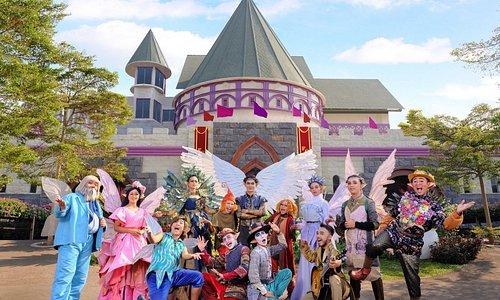 Castle Fairy Garden Bandung bersama peri