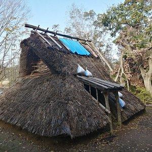 奈良時代の竪穴式住居