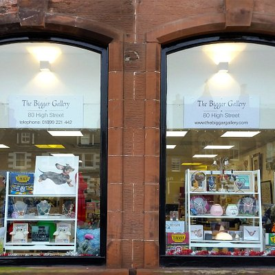 The Biggar Gallery - more space, more choice and a great shopping experience.