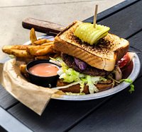 All the way burger! VEGAN