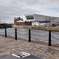 View of Liverpool museum from Canning Dock