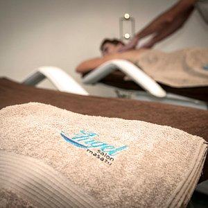 Masaże relaksacyjne  z opcją równoległego masażu dla dwojga
