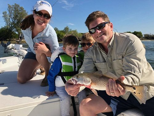 This family had a great time taking there two sons on there first ever fishing charter.
