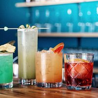 Vibrant and exciting cocktails at Low Down!