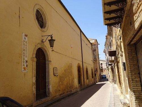 Palazzo Malfitano e Museo della Grafica - Naro, Sicily
