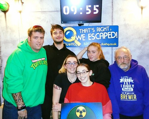 That's Right, We Escaped