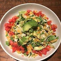 Barbecue Salad no Chicken