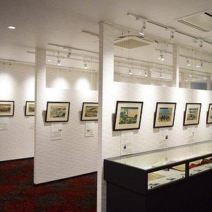Special exhibition commemorating the 260 year anniversary of the birth of Katsushika Hokusai