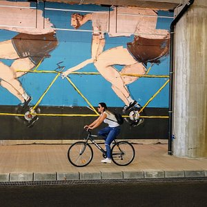 Mural of Italian artist Luca di Maggio