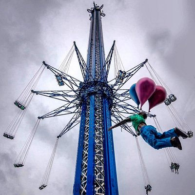 We promise you can't beat the view up here. Soar on the StarFlyer today! ❤️