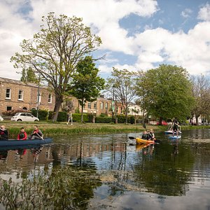 Hire Canoe, Kayak, SUP board, Pedal boat on Grand Canal Portobello harbour, Dublin 8
