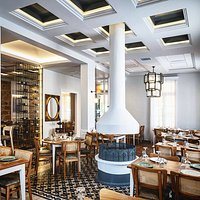 #autohash #Iraklio #Greece #furniture #luxury #chair #room #sofa #seat #lamp #ceiling #window #chandelier #hotel #architecture #fireplace #mirror  #traditional#restaurant
