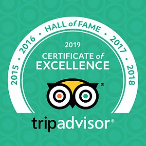 TripAdvisor Hall of Fame Award