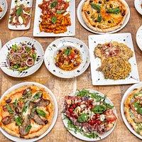 Meli Melo de plats italiens qui font la réputation de l'italie