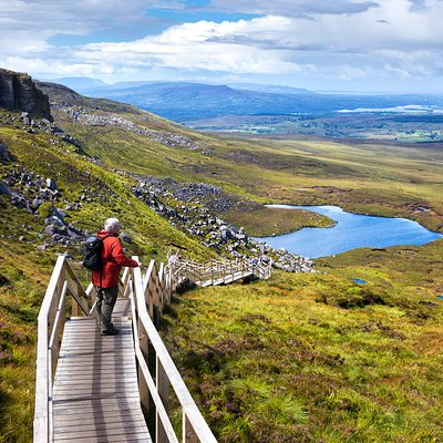 Cuilcagh Boardwalk Trail   Copyright: Marble Arch Caves