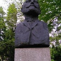 Nice monument to a famous Bulgarian writer