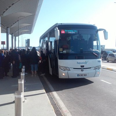 Bus from Taksim square to airport