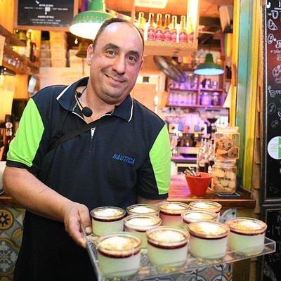 Chef Roi Ronen on Culinary Tuor. photo: yair sagi
