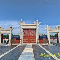 Lingxing Gates: entry to de Circular Mound Altar in the Temple of Heaven
