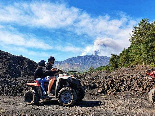 Etna quad tour - Etna vulcano