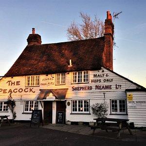 4.  The Peacock Bar, Goudhurst, Kent