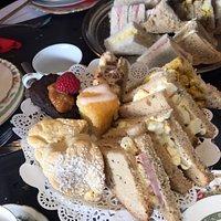 Gluten Free afternoon tea - spectacular food fantastic service