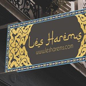 Les Harems Signboard