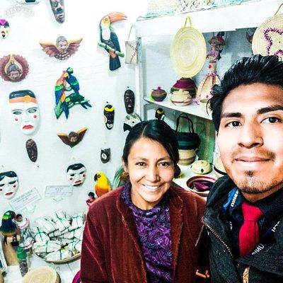Herencia, expresión e identidad en un solo lugar. Recomiendo que lo visten se encuentra en un hito histórico de la ciudad de la Paz.