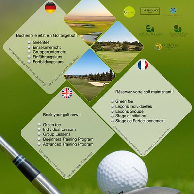 Tunisia Golf Trip @ your service for a nice game