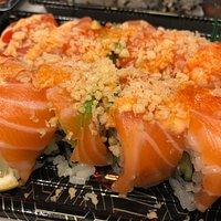 Example of freshly made sushi.
