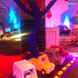 With two different nine-hole courses to choose from, you'll putt your stuff around 18 uniquely themed holes.