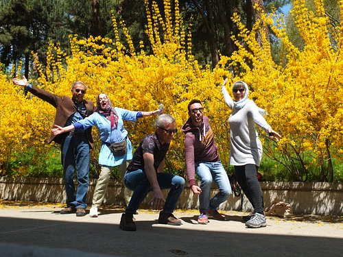 Happy ending of Iran tour