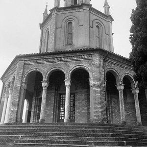 vista total da igreja