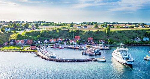 Landskrona, om 30 minuter kan du vara på ön Ven.  Foto: David Elg Moob Agency