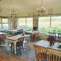 The interior of the Tea Barn - there are 36 seats inside and a further 50 out.