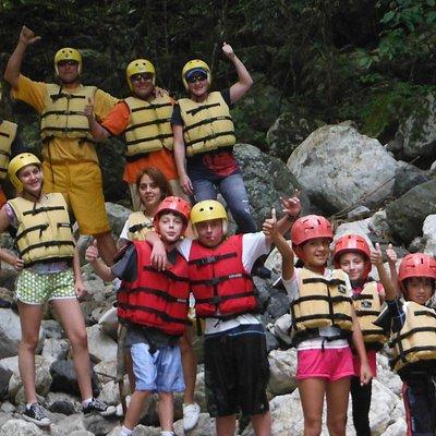 Cañonismo Actividad apta para todos los viajeros desde los 6 años de edad.