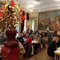 La sala del Cafe Jacquemart-Andre