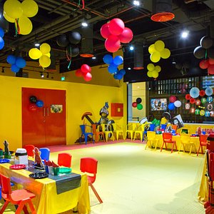 one of our three party rooms