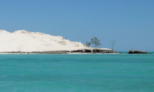 Tratti della costa sud occidentale del Madagascar