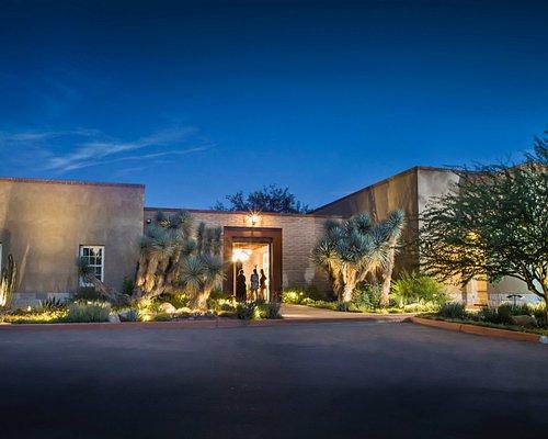 Entrance into the Tucson Botanical Gardens