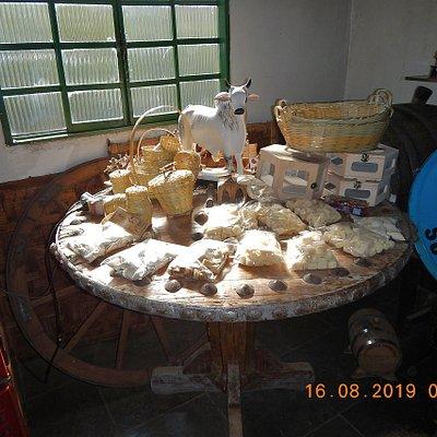 Interior da Cachaçaria.