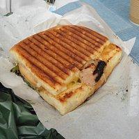 The toasted panini