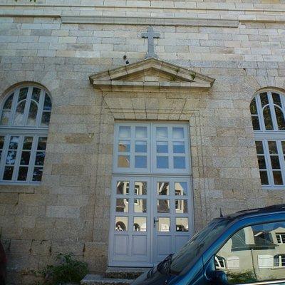 Северо-западная часть фасада бывшего сакрала