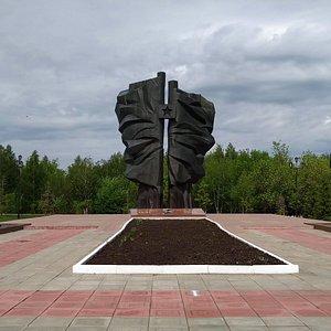 Монумент боевой и трудовой славы, Кумертау.