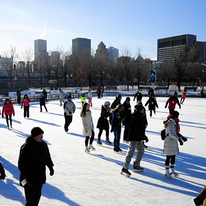 Discover one of the most beautiful ice rinks in Montreal with its breathtaking view of the historic district and its fun programming. A must for your winter outings.