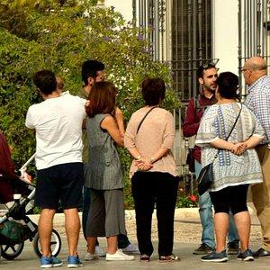 Visita de grupo familiar, Priego de Córdoba.