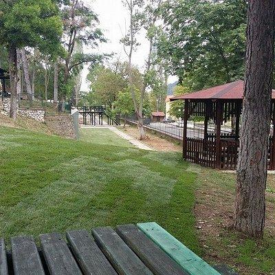 Άποψη της εισόδου του ζωολογικού κήπου.