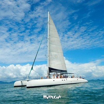 Day trips in catamaran. Day of pure pleasure, all inclusive !