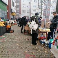 Farmers market organized by locals.  Hand made, eco, food, drinks, workshop. Saturdays 10-12 am Zagreb, Vrbani, Rudeška 142, backyard side